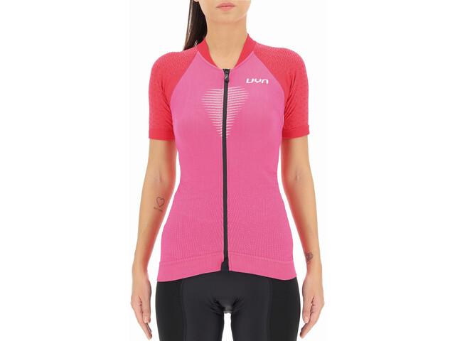 UYN Granfondo Maglia da ciclismo a manica corta Donna, rosa